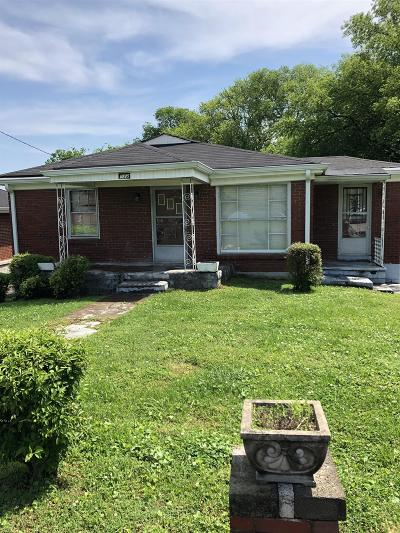Nashville Single Family Home Under Contract - Not Showing: 938 34th Ave N