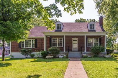 Nashville Single Family Home Active - Showing: 2906 Simmons Ave