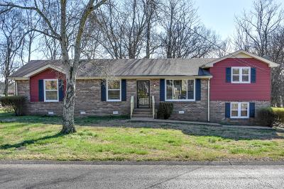 Nashville TN Single Family Home Under Contract - Not Showing: $235,000