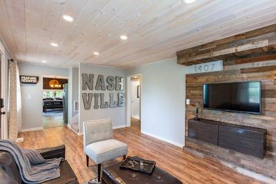 Nashville Single Family Home Active - Showing: 1407 Jones Ave