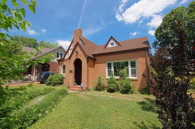 Nashville Single Family Home Active - Showing: 2105 Pontotoc Ave