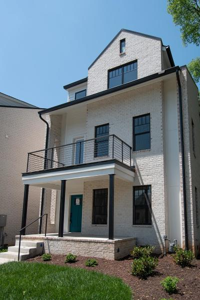 Nashville Single Family Home Under Contract - Showing: 1813 Beech Ave Unit 6