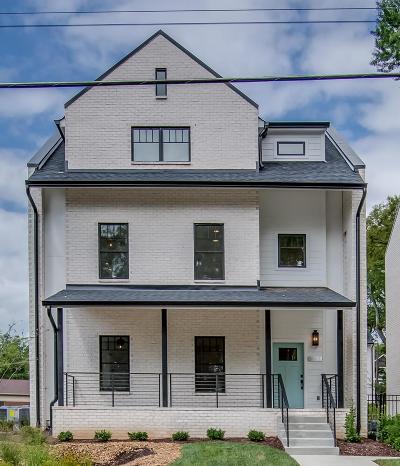 Nashville Single Family Home Active - Showing: 1813 Beech Avenue Unit 2