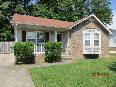 Clarksville Single Family Home Active - Showing: 202 Stephanie Dr