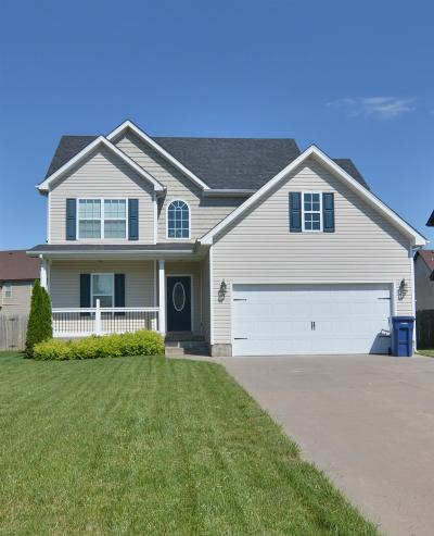 Clarksville TN Single Family Home Active - Showing: $185,000