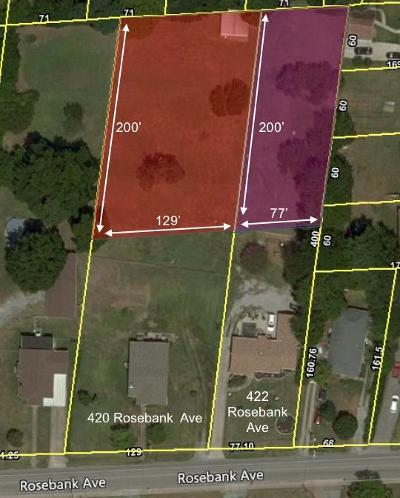 Nashville Residential Lots & Land For Sale: 420 Rosebank Ave
