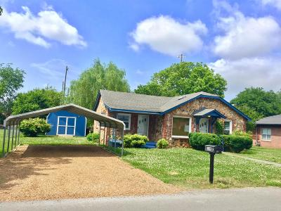 Cowan Single Family Home For Sale: 109 Poplar St N