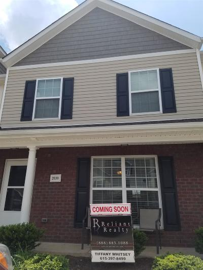 Lavergne Condo/Townhouse Under Contract - Showing: 2030 George Buchanan Dr