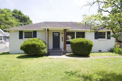 Nashville Single Family Home Active - Showing: 3610 Golf St
