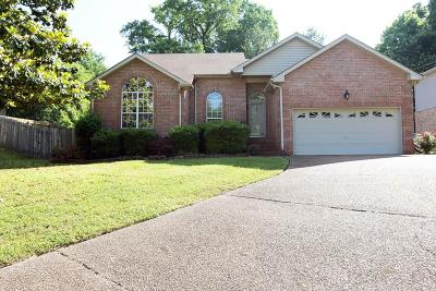 Nashville Single Family Home Active - Showing: 3325 Quail Run Ct