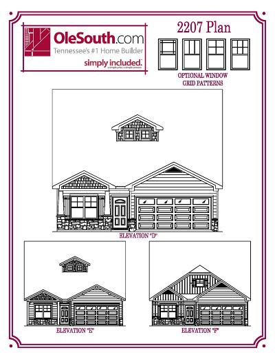 Smyrna Single Family Home For Sale: 218 Hourless Drive(Lot#51)