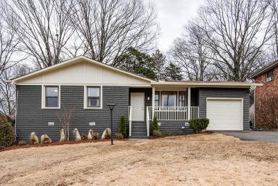 Nashville Single Family Home Active - Showing: 3318 Ironwood Dr