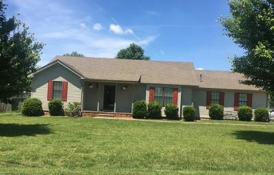 Robertson County Single Family Home Under Contract - Not Showing: 3002 Easy Goer Ln