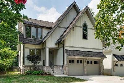 Nashville Single Family Home For Sale: 971 Greerland Dr