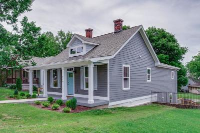 East Nashville Single Family Home Under Contract - Showing: 918 Marina St