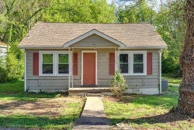 Maury County Single Family Home Under Contract - Showing: 411 E 18th St
