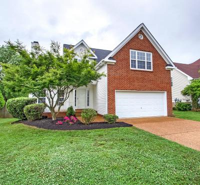 Thompsons Station Single Family Home For Sale: 1154 Summerville Circle