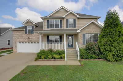 Christian County, Ky, Todd County, Ky, Montgomery County Single Family Home For Sale: 3708 Meadow Knolls Ct.
