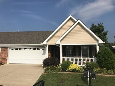 Murfreesboro TN Single Family Home Under Contract - Showing: $255,000