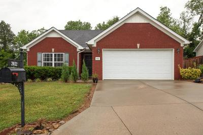 Spring Hill  Single Family Home Under Contract - Showing: 2032 Red Jacket Trce