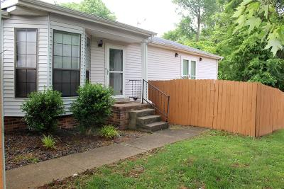 Davidson County Condo/Townhouse Under Contract - Not Showing: 1000 Patio Dr
