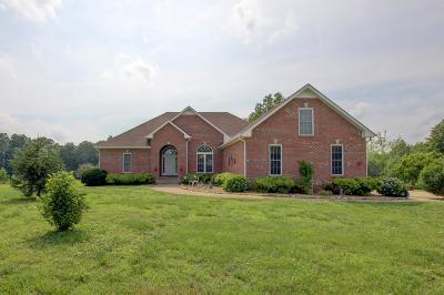 Clarksville Single Family Home Under Contract - Showing: 850 Oak Plains Rd