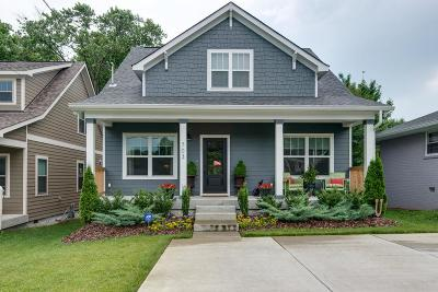 East Nashville Single Family Home Under Contract - Showing: 703 Rosebank Ave