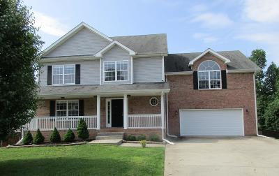 Clarksville Single Family Home Under Contract - Showing: 2548 Hattington Dr