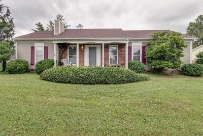 Franklin Single Family Home Under Contract - Showing: 136 Rivergate Dr