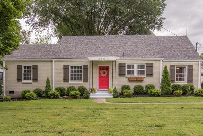 Nashville Single Family Home Under Contract - Not Showing: 2543 Stinson Rd