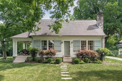 Nashville Single Family Home Under Contract - Showing: 305 Peachtree St