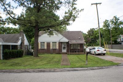 East Nashville Single Family Home Under Contract - Showing: 1708 Litton Ave