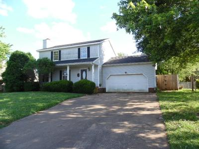 Clarksville Single Family Home Under Contract - Showing: 1634 S. Jordan Dr