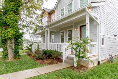 East Nashville Single Family Home Active - Showing: 1074 B Zophi St