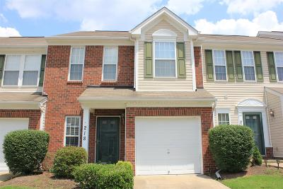 Nashville TN Condo/Townhouse For Sale: $185,900