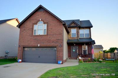 Clarksville Single Family Home For Sale: 1518 Cobra Ln