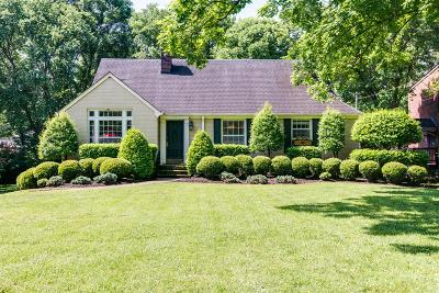 Single Family Home Under Contract - Showing: 929 Woodmont Blvd