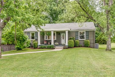 Davidson County Single Family Home For Sale: 247 Blue Hills Dr