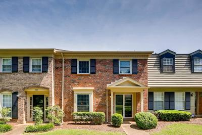 Nashville Condo/Townhouse For Sale: 1024 Todd Preis Dr