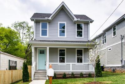 East Nashville Single Family Home Active - Showing: 620 Neill Ave