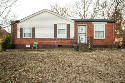 Davidson County Single Family Home Active - Showing: 3231 Crowe Drive