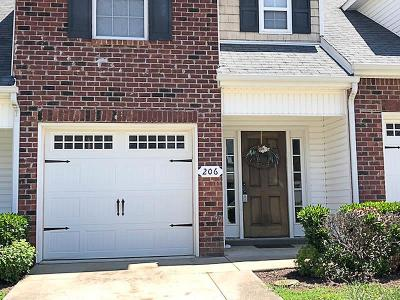 Smyrna, Lascassas Condo/Townhouse Under Contract - Not Showing: 206 Latimer Dr