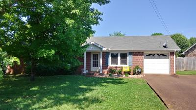 Smyrna Single Family Home Under Contract - Showing: 121 Bordeaux Ct