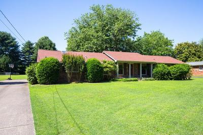 Hendersonville Single Family Home Under Contract - Showing: 203 Lake Terrace Dr