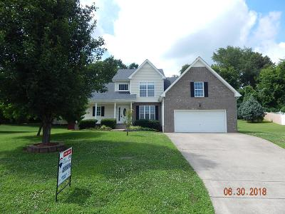 Clarksville Single Family Home For Sale: 228 Cheshire Rd