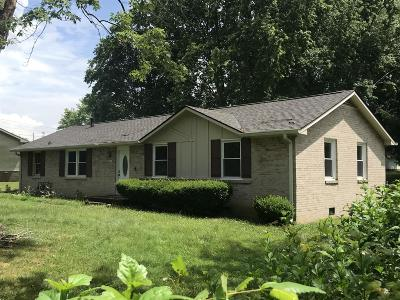 Clarksville Single Family Home Under Contract - Showing: 208 Short St