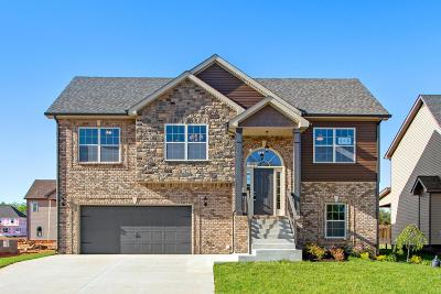 Clarksville Single Family Home Under Contract - Not Showing: 1730 Ellie Piper Circle