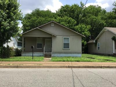 Nashville Single Family Home Under Contract - Showing: 1738 23rd Ave N