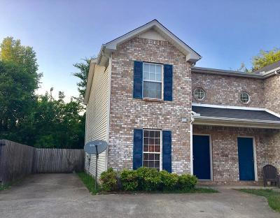 Rutherford County Single Family Home Under Contract - Showing: 1445 Middleborough Ct
