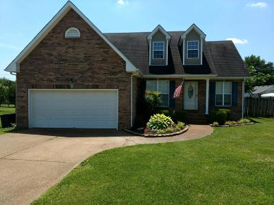 Robertson County Single Family Home Under Contract - Showing: 2078 Sunday Silence Dr